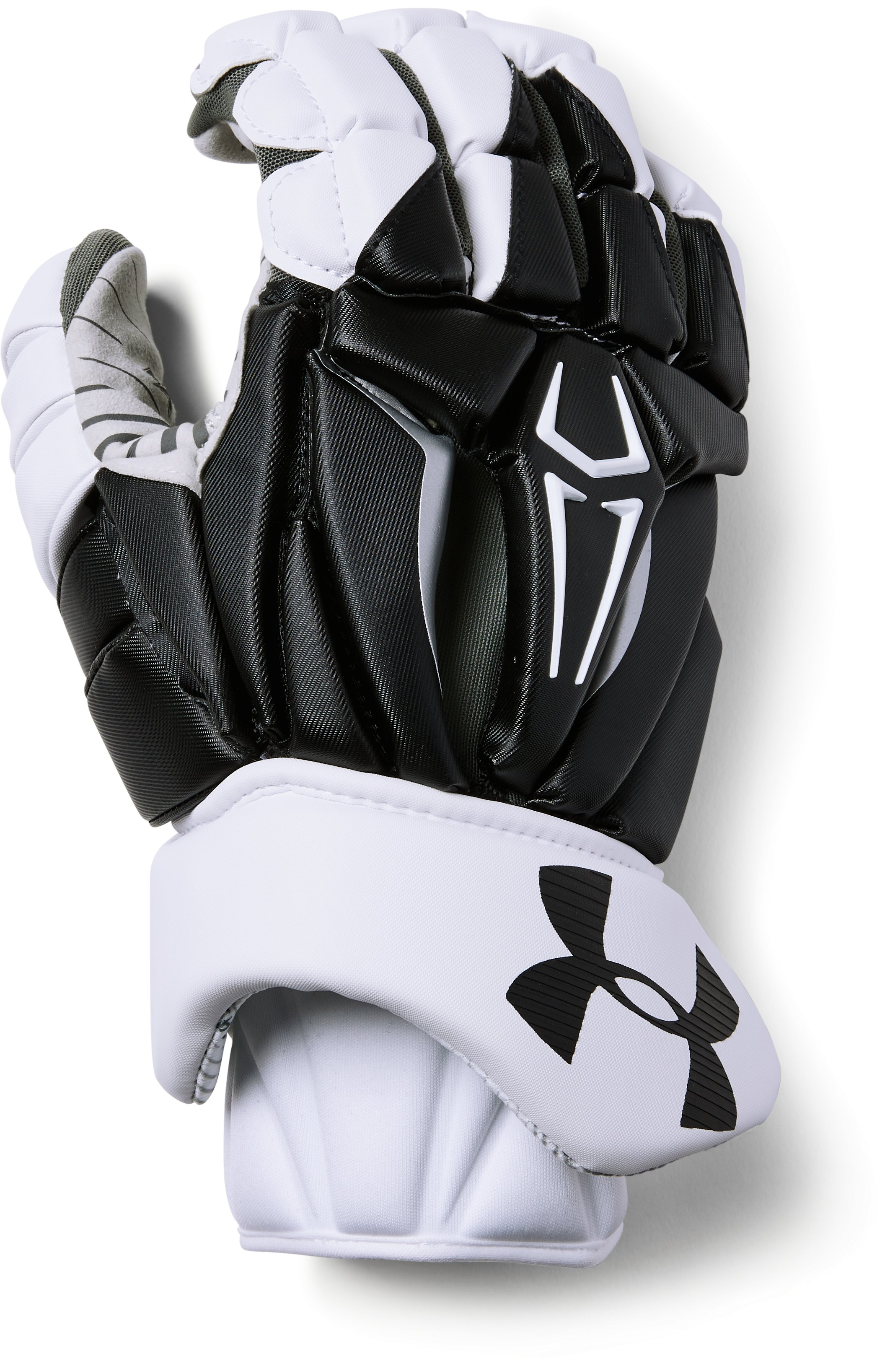 Men's UA Command Pro 2.0 Lacrosse Gloves, Black , zoomed