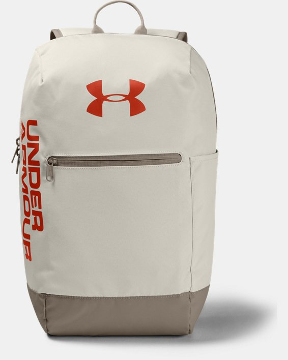 UA Patterson Backpack, White, pdpMainDesktop image number 0