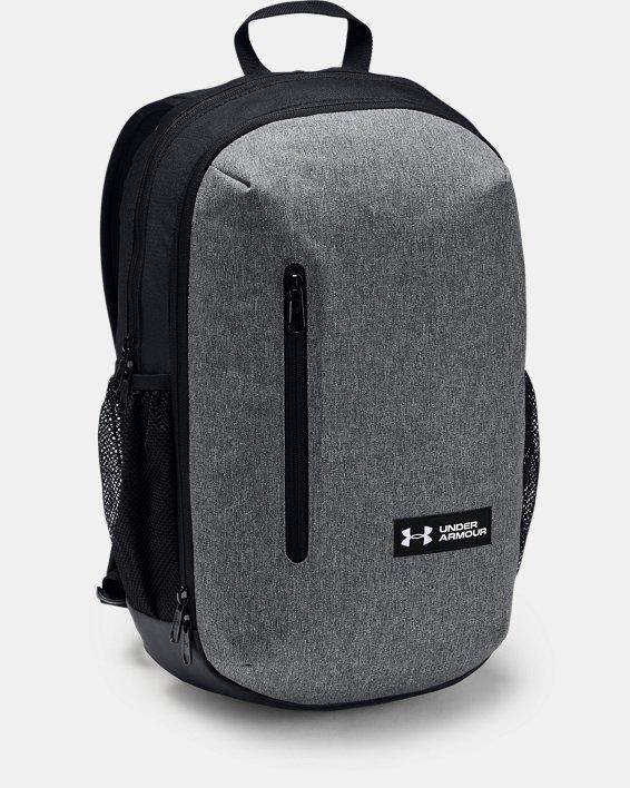 UA Roland Backpack, Gray, pdpMainDesktop image number 0
