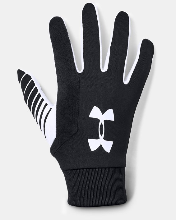Men's UA Field Players 2.0 Glove, Black, pdpMainDesktop image number 0