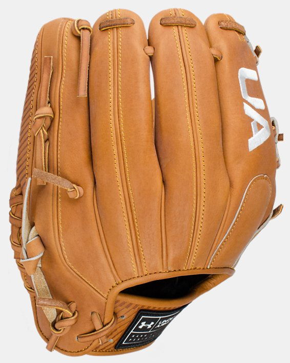 "UA Flawless 11.5"" Baseball Fielding Glove, Yellow, pdpMainDesktop image number 1"