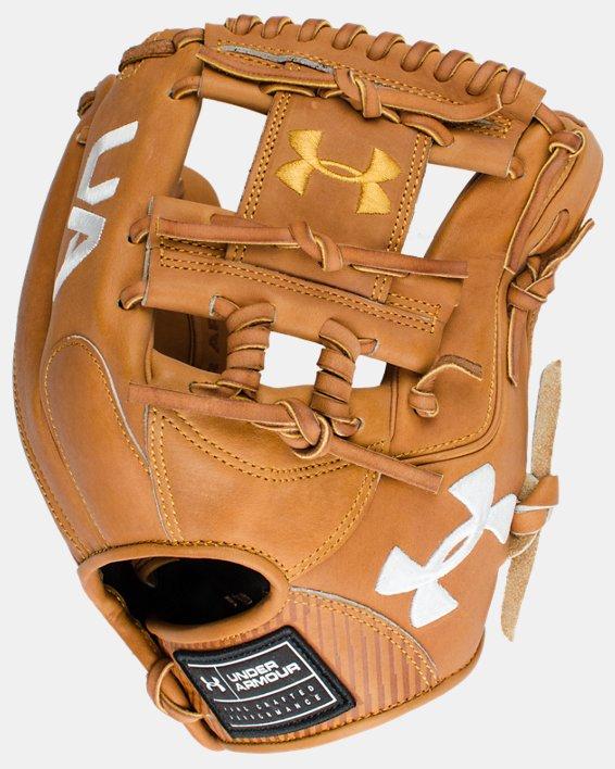 "UA Flawless 11.5"" Baseball Fielding Glove, Yellow, pdpMainDesktop image number 2"