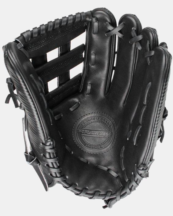 "UA Flawless 12.75"" H-Web Baseball Fielding Glove, Black, pdpMainDesktop image number 0"