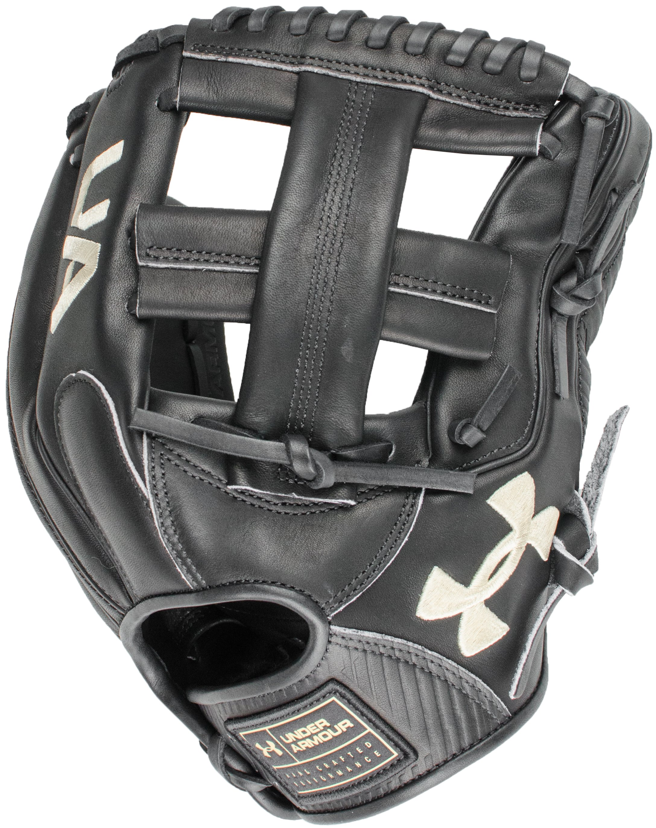 "UA Flawless 11.75"" Baseball Fielding Glove, Black ,"