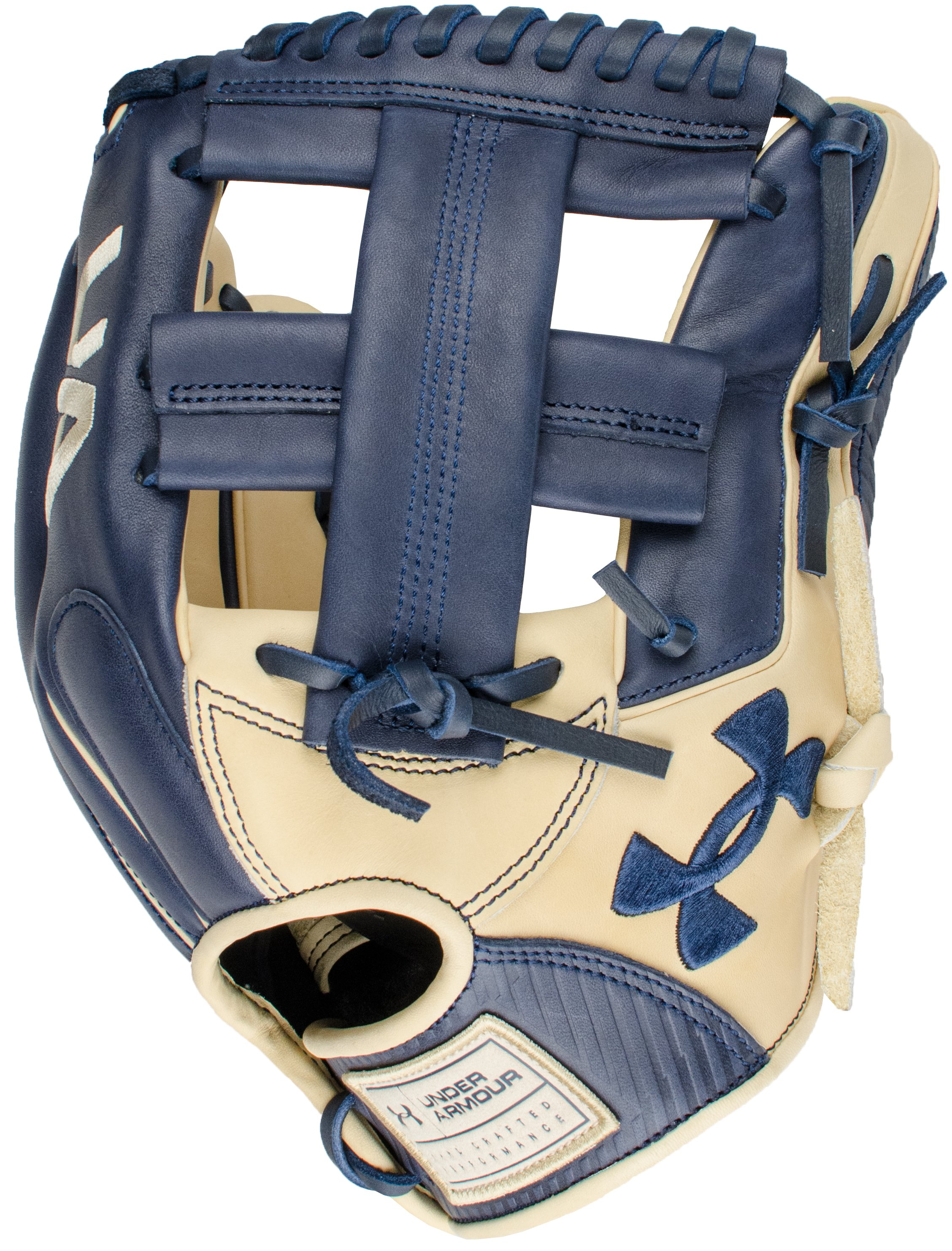 "UA Genuine Pro 11.75"" Baseball Fielding Glove , Midnight Navy, zoomed"