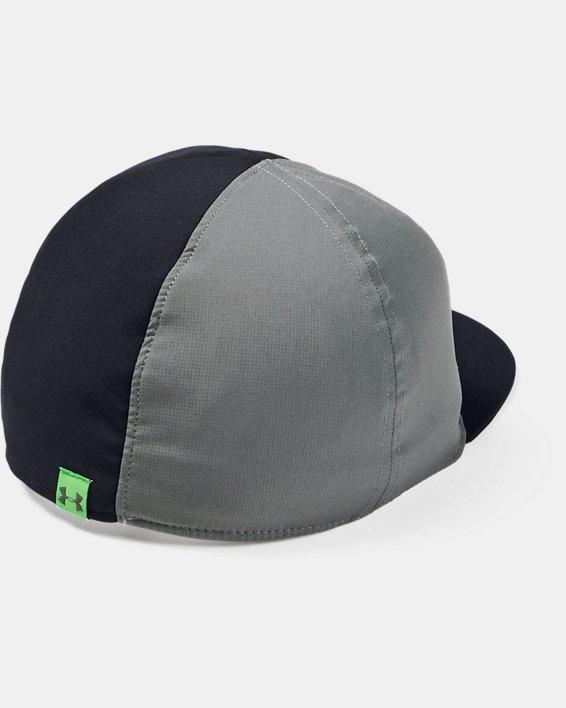 Boys' UA Flipside Flat Brim Cap, Black, pdpMainDesktop image number 1