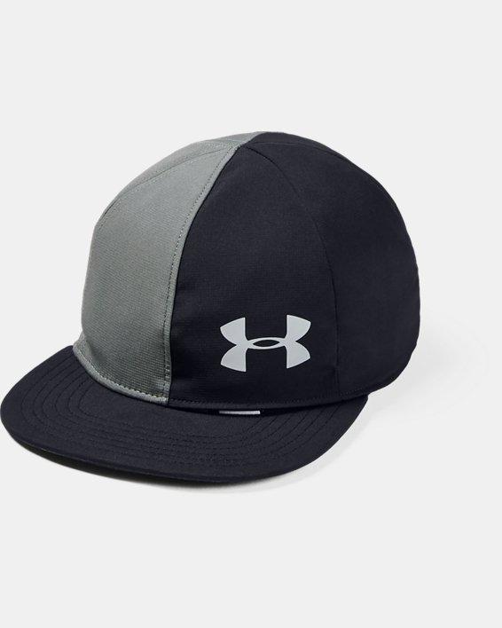 Boys' UA Flipside Flat Brim Cap, Black, pdpMainDesktop image number 0