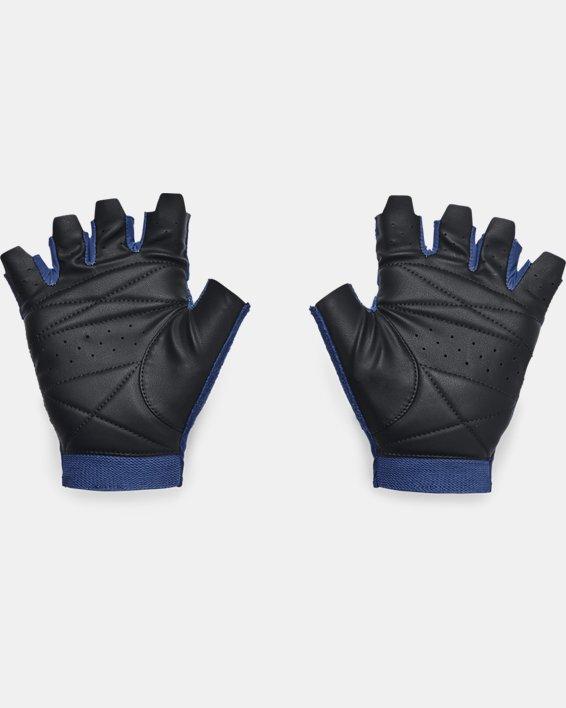 Men's UA Training Gloves, Blue, pdpMainDesktop image number 1