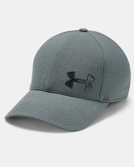 Men's UA ArmourVent™ Core 2.0 Cap, Gray, pdpMainDesktop image number 0