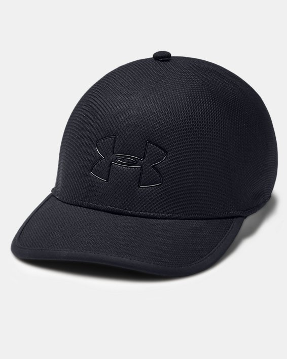 Men's UA SpeedForm® Blitzing Cap, Black, pdpMainDesktop image number 0