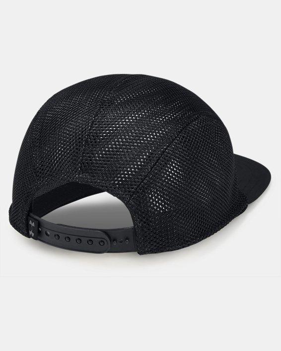 Men's UA Pursuit Elite Camper Cap, Black, pdpMainDesktop image number 1