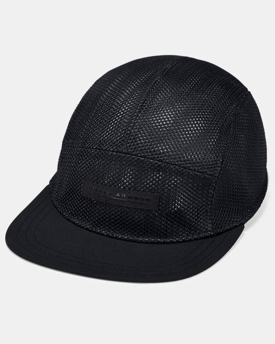Men's UA Pursuit Elite Camper Cap, Black, pdpMainDesktop image number 0