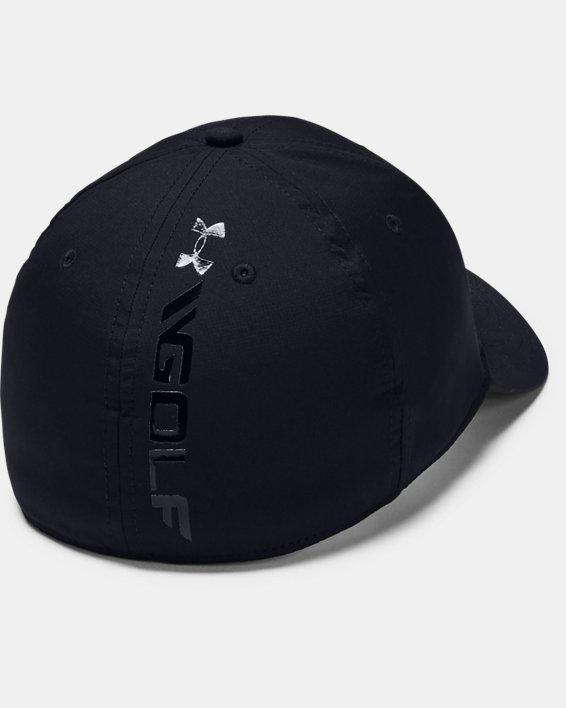 Men's UA Golf Headline 3.0 Cap, Black, pdpMainDesktop image number 0