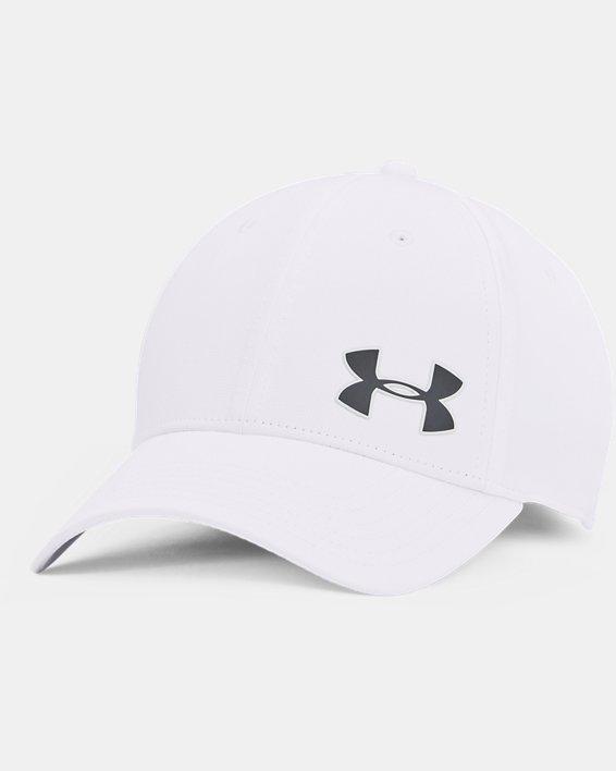 Men's UA Golf Headline 3.0 Cap, White, pdpMainDesktop image number 0
