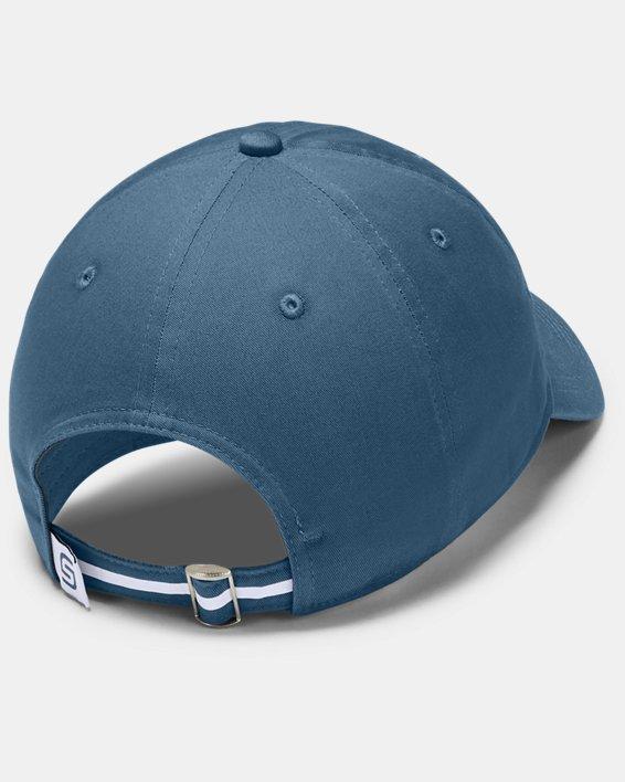 Men's UA Jordan Spieth Washed Cotton Cap, Blue, pdpMainDesktop image number 1