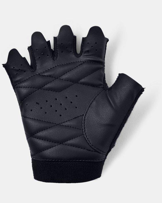Damen UA leichte Trainingshandschuhe, Black, pdpMainDesktop image number 1