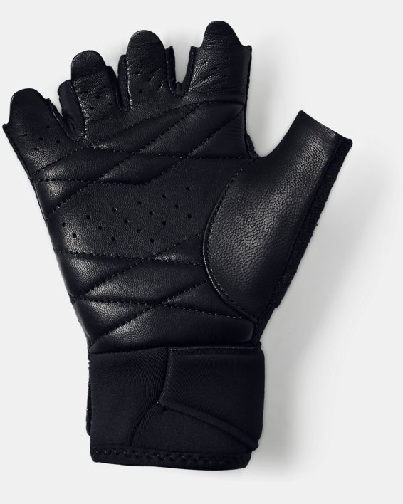 Women's UA Medium Training Gloves, Black, pdpMainDesktop image number 1