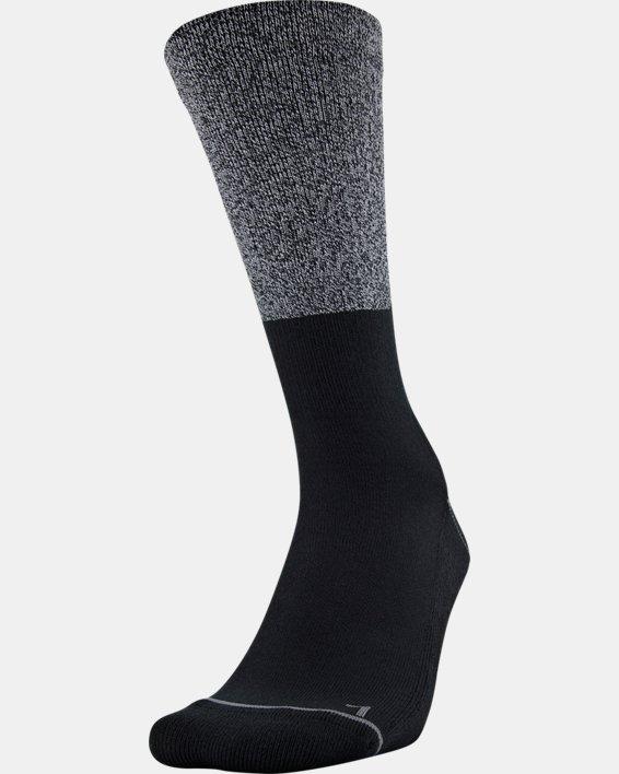Men's UA Phenom Crew Socks 3-Pack, Gray, pdpMainDesktop image number 2