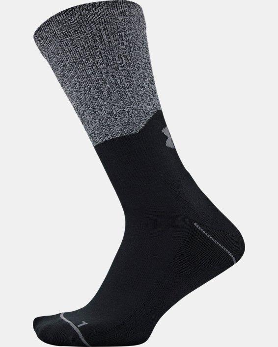Men's UA Phenom Crew Socks 3-Pack, Gray, pdpMainDesktop image number 8