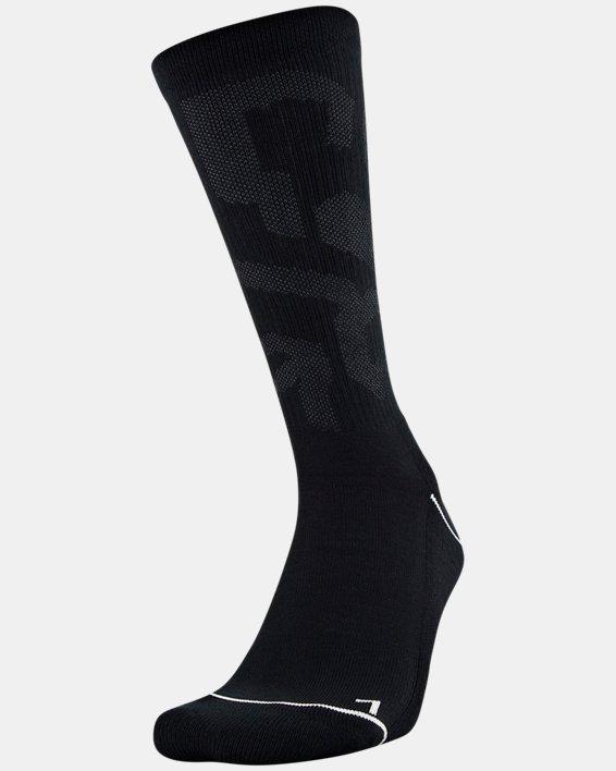 Men's UA Phenom Crew Novelty – 3-Pack Socks, Gray, pdpMainDesktop image number 1