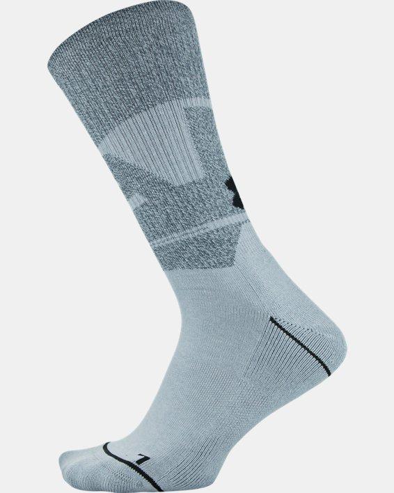 Men's UA Phenom Crew Novelty – 3-Pack Socks, Gray, pdpMainDesktop image number 8