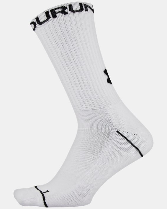 Men's UA Phenom Crew Novelty – 3-Pack Socks, Gray, pdpMainDesktop image number 7