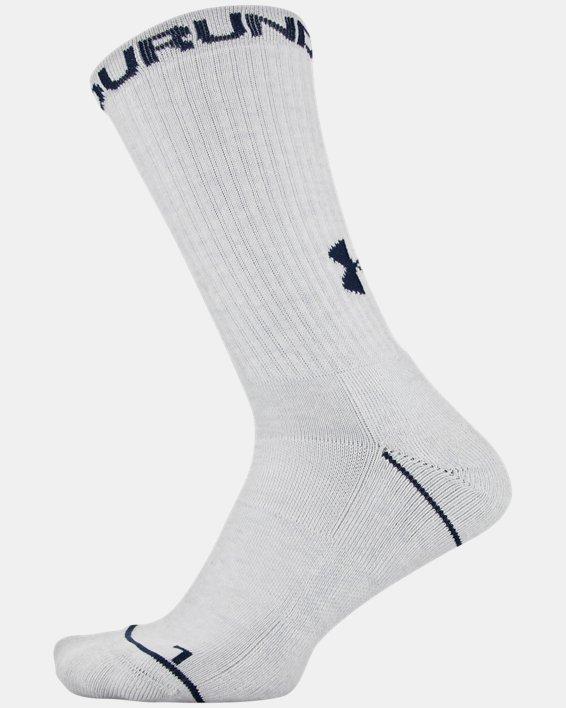 Men's UA Phenom Crew Novelty – 3-Pack Socks, Blue, pdpMainDesktop image number 7