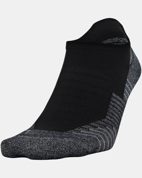UA Run No Show Tab – 2-Pack Socks, White, pdpMainDesktop image number 1