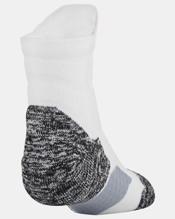 Men's UA Drive Quarter Socks, White, pdpMainDesktop image number 1
