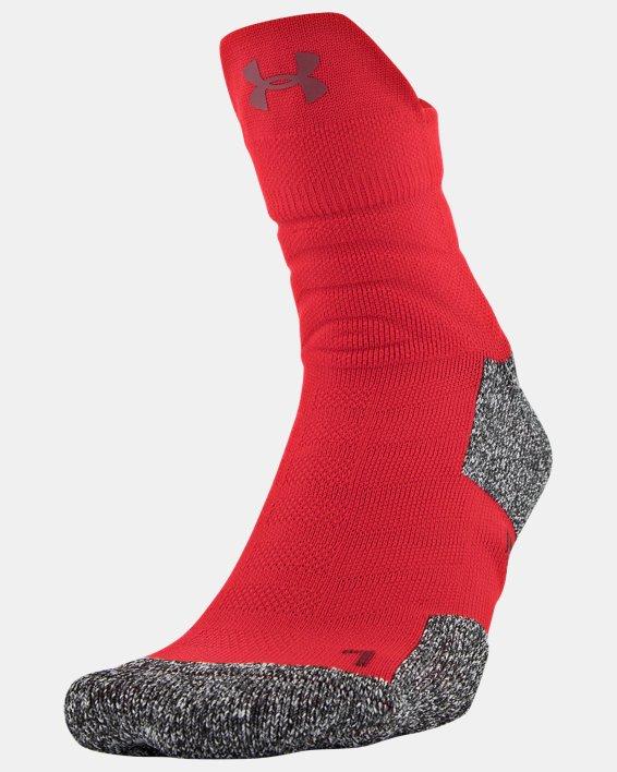Men's UA Drive Quarter Socks, Red, pdpMainDesktop image number 0