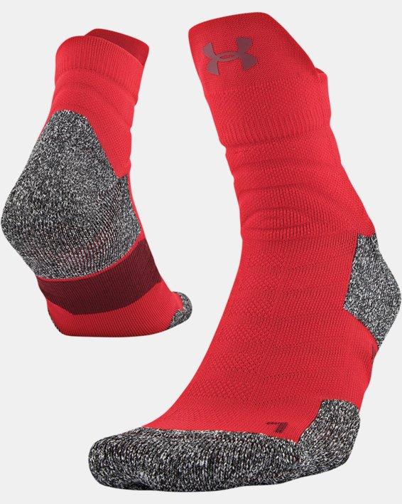 Men's UA Drive Quarter Socks, Red, pdpMainDesktop image number 3