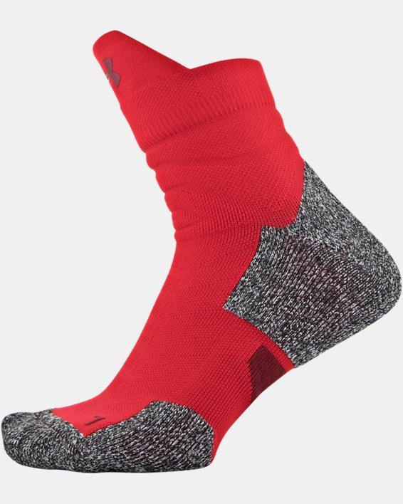 Men's UA Drive Quarter Socks, Red, pdpMainDesktop image number 2