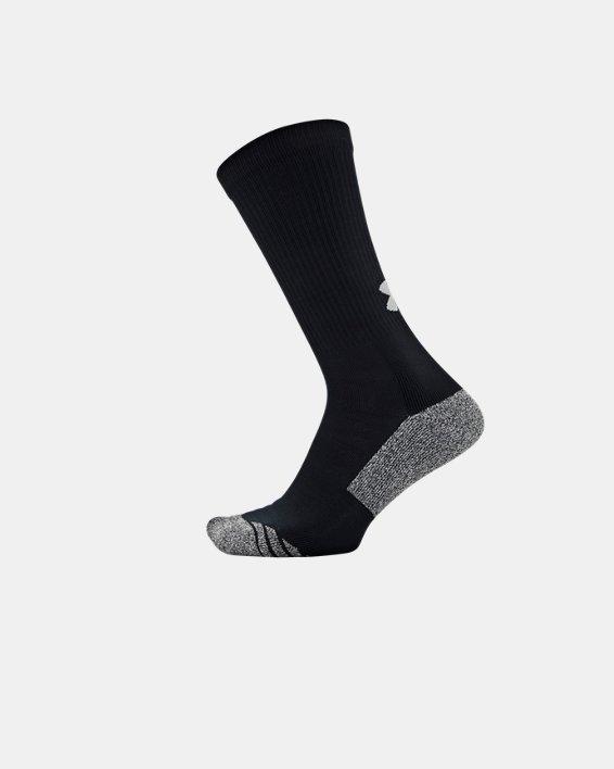 Adult UA ArmourGrip™ Crew Socks, Black, pdpMainDesktop image number 2