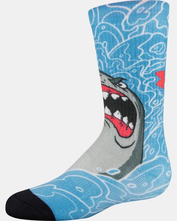 Kids' UA Mix – 2-Pack Socks, Blue, pdpMainDesktop image number 4
