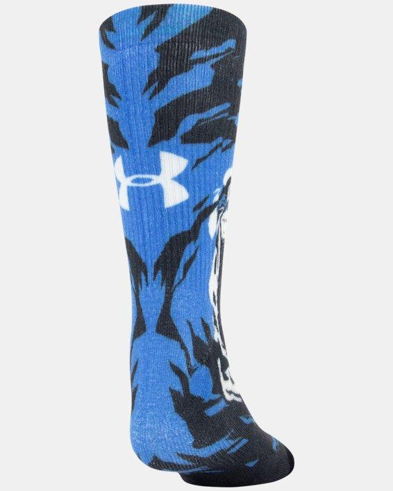 Kids' UA Mix – 2-Pack Socks, Blue, pdpMainDesktop image number 2