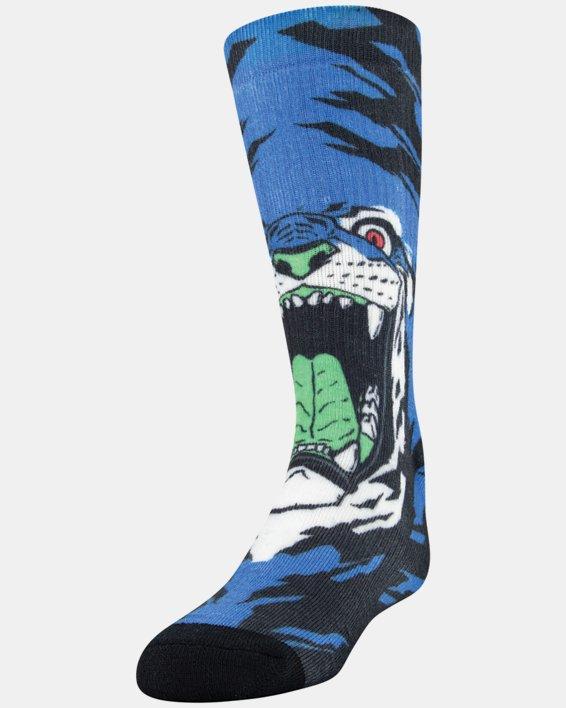 Kids' UA Mix – 2-Pack Socks, Blue, pdpMainDesktop image number 0