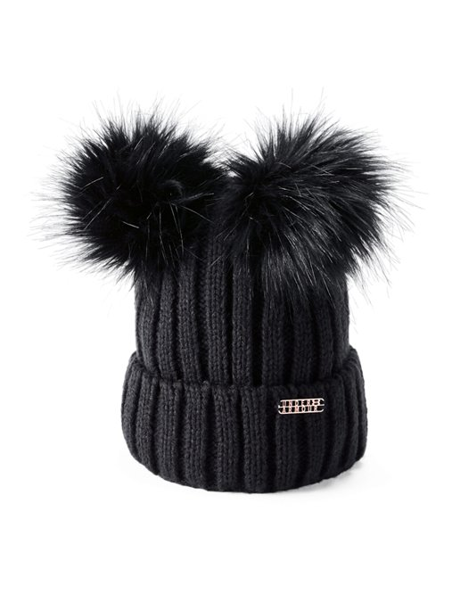This review is fromWomen s UA LV Cortina Double Pom Beanie. 5ff4f4b2ef