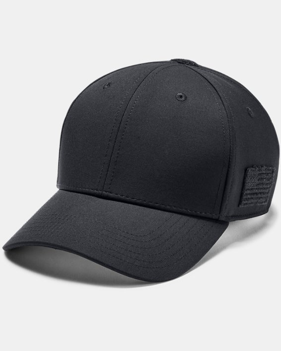 Men's UA Tactical Friend Or Foe 2.0 Cap, Black, pdpMainDesktop image number 0