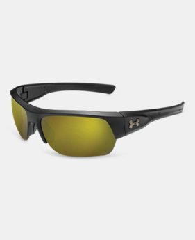 New Arrival Men's UA Big Shot Tuned Polarized Sunglasses   1 Color $149.99