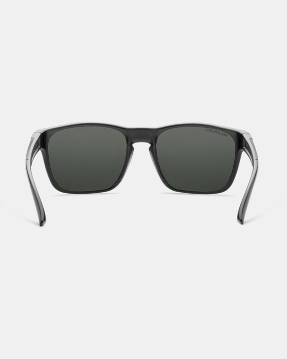 UA Glimpse Polarized Mirror Sunglasses, Black, pdpMainDesktop image number 1