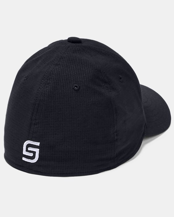 Boys' UA Official Tour 3.0 Cap, Black, pdpMainDesktop image number 1