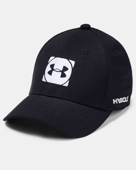 Boys' UA Official Tour 3.0 Cap, Black, pdpMainDesktop image number 0