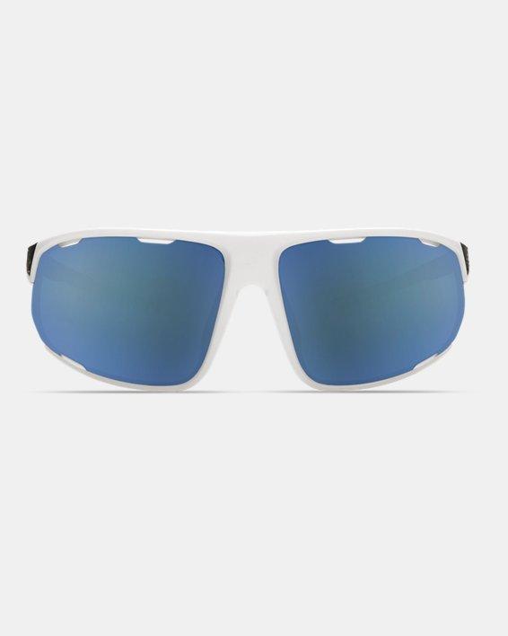 Men's UA TUNED™ Baseball Strive Sunglasses, White, pdpMainDesktop image number 2