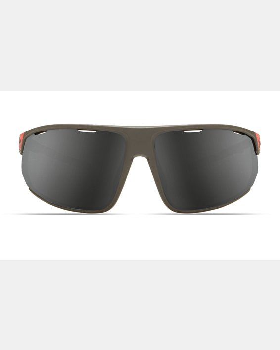 Men's UA Strive Mirror Sunglasses, Gray, pdpMainDesktop image number 0