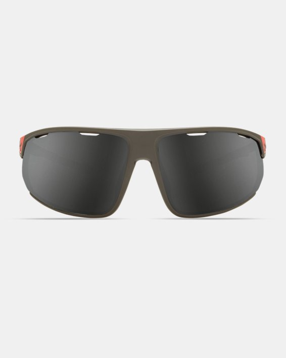 Men's UA Strive Mirror Sunglasses, Gray, pdpMainDesktop image number 2