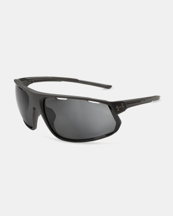 Men's UA Strive Polarized Mirror Sunglasses, Gray, pdpMainDesktop image number 0