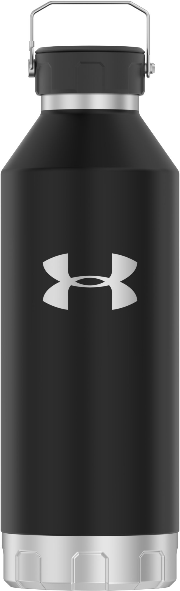 UA Peak 40 oz. Stainless Steel Water Bottle, Black , zoomed