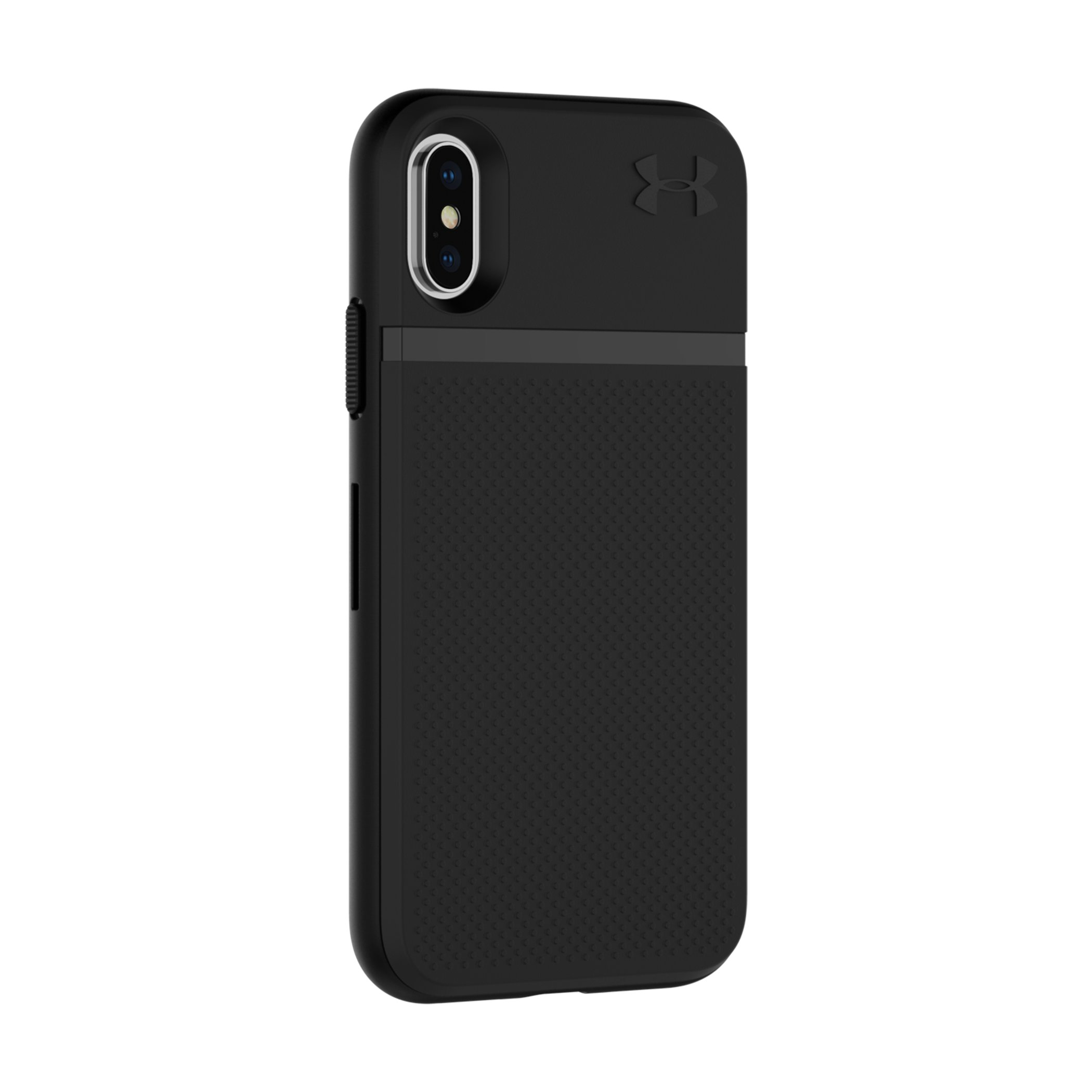 UA Protect Stash Case for iPhone X, Black ,