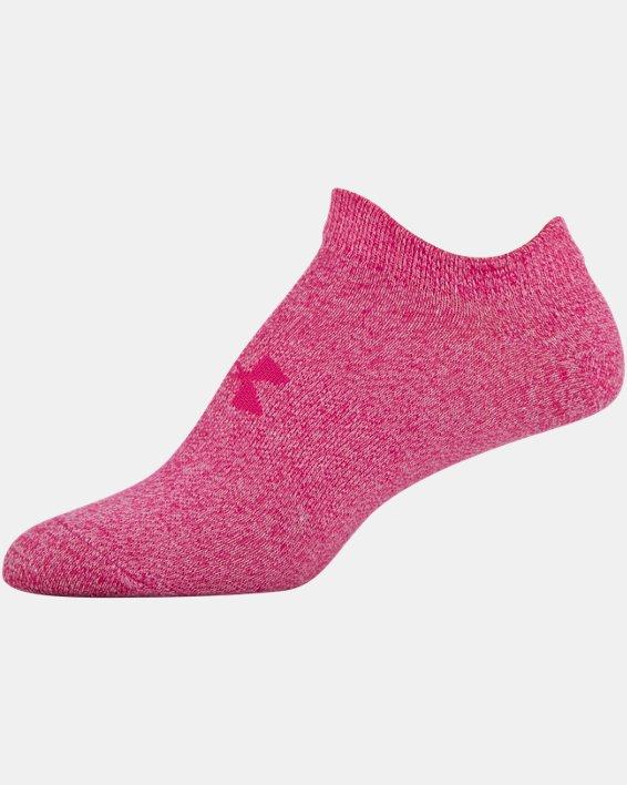 Women's UA Essentials No Show – 6-Pack, Pink, pdpMainDesktop image number 12