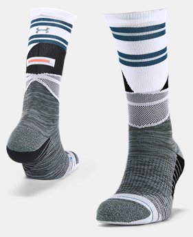 UA x Stance SLK Crew Socks  4  Colors Available $25